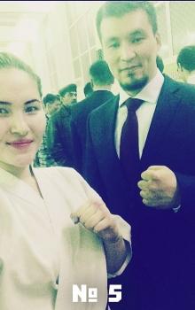 5 Камилла Тамербекова и Дармен Садвокасов