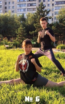 6 Николай Рогов и Шынар Аргын