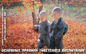 Основные правила тибетского воспитания. Психология