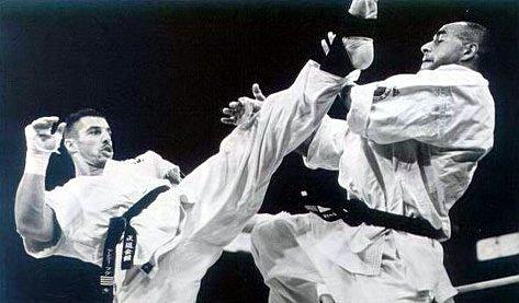 Бойцы Кёкушинкай каратэ в К-1 и боях без правил