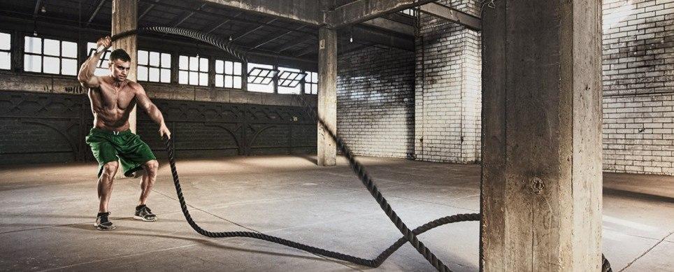 Тренировка с канатом (Heavy Rope)