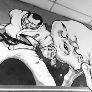 Масутацу Ояма в книге Философия каратэ писал: Я был маленьким, но рост мой увеличился по мере занятий каратэ