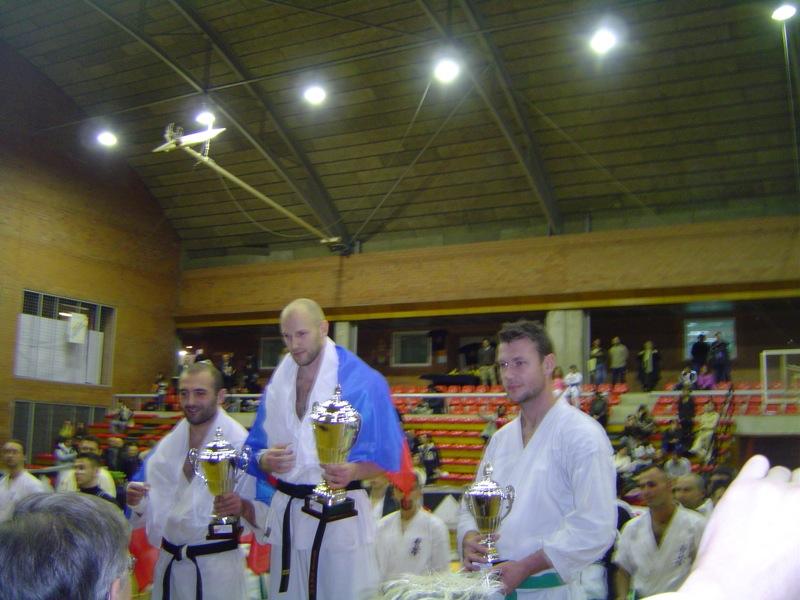 Открытый чемпионат Испании 2007. 1.SERGEY OSIPOV 2. TIMUR GASTASHEV 3. SAS COSMIN, ESPAÑA 3. KAMILO KARPISKI, ESPAÑA