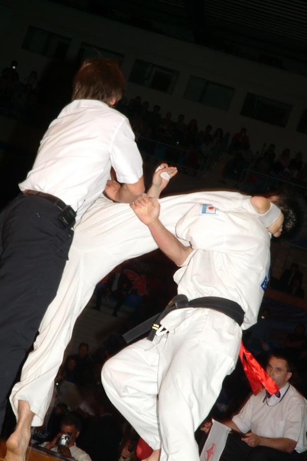 2005 ЧМ КАН Полуфинал против Фудзии Юскэ (Япония)