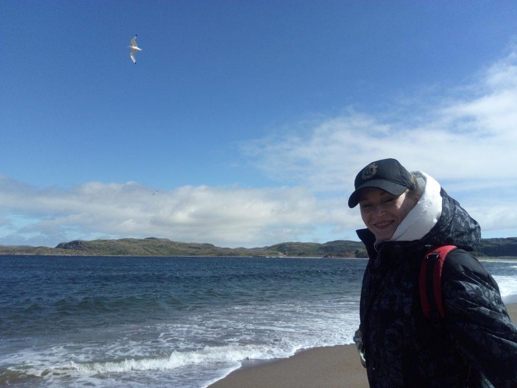 мы с Виталием посетили не только Баренцево море, а ещё и северный ледовитый океан!