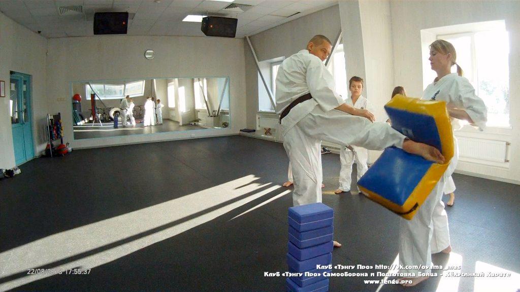 Записать ребёнка на Самооборону и Кёкусинкай карате в Мурманске - Клуб «Тэнгу Про»