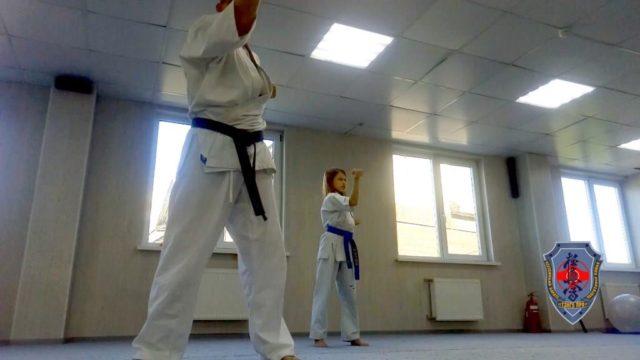 Кихон в Кёкусинкай карате