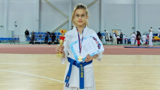 Панина Дарина 1 место