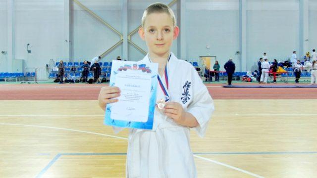 Салтыков Егор 3 место