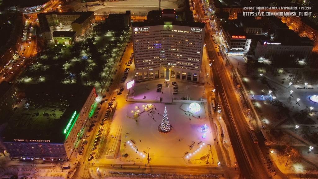 Мурманск самый большой город в мире за Полярным кругом