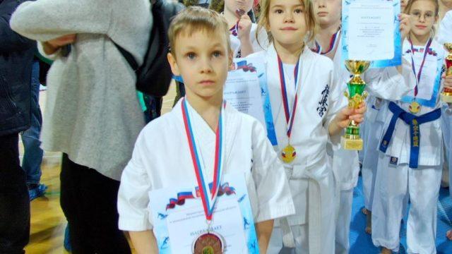 Быков Николай 3 место