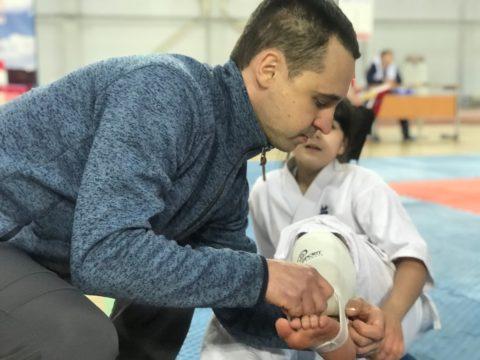 спасибо Павлу Демченко и папе Тимофея за помощь в секундировании спортсменов
