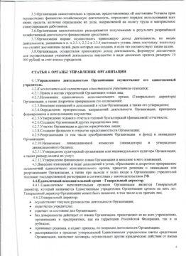 Устав АНО ЦСП Тэнгу Про 4