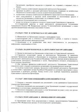 Устав АНО ЦСП Тэнгу Про 5