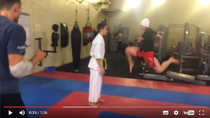Тренинг: Перемещение в стойке