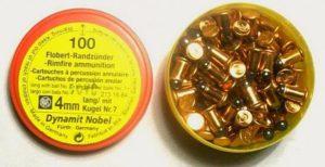 Боеприпасы для револьвера под патрон Флобера и для пневматического пистолета