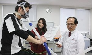 Доктор Табата занимается японскими конкобежцам