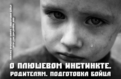 О ПЛЮШЕВОМ ИНСТИНКТЕ. РОДИТЕЛЯМ