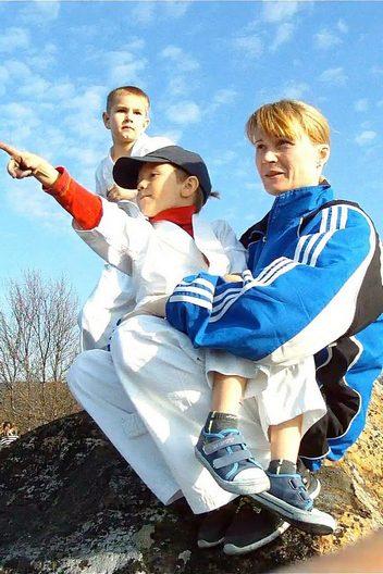 Смирнова Ирина Викторовна-Детская группа-Клуб «Тэнгу Про» Самооборона и Подготовка бойца Кёкусинкай карате
