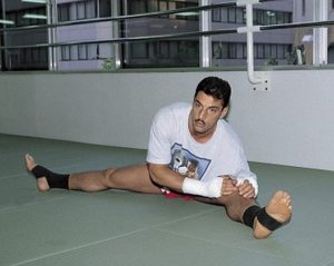 Тренировки Энди Хуга проходили по 12-15 раз в неделю, и были направлены на достижение максимального эффекта по трем направлениям, таким как - сила, скорость и растяжка