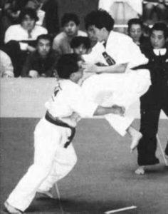 Шокирующее поражение Куросавы в поединке с Тоёта на XVIII чемпионате Японии.
