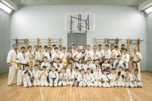 4-е учебно-тренировочные сборы Шихана Горохова в Мурманской региональной организации Кёкусинкай