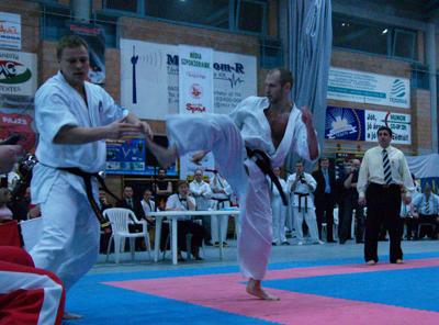 Сергей Осипов на Кубке Европы КАН 2007 (Венгрия)
