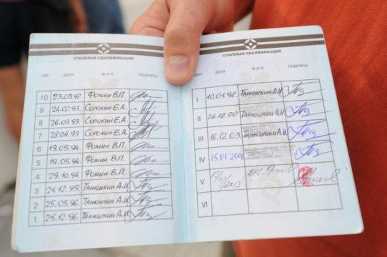 Все пройденные аттестации, отображаются в Будо паспорте каратиста и вносятся в базу данных Федерации Кёкусинкай России (ФКР)