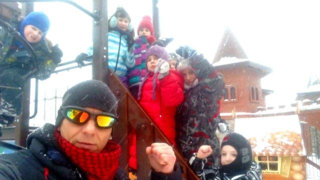 Всем Клубом «ТЭНГУ ПРО» в Детском городке «Сказка»