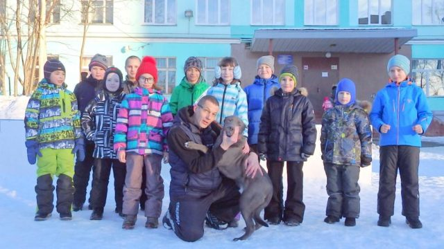 Фрагменты тренировки Средней группы (9 - 12 лет) на каникулах 26 апреля 2019 Клуб «Тэнгу Про». Мурманск
