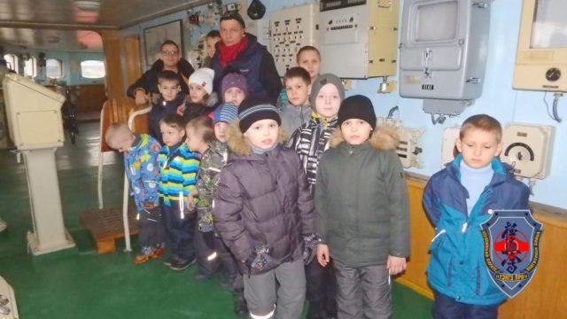 Клуб «Тэнгу Pro» на первом в мире надводном судне с ядерной силовой установкой Атомном ледоколе «Ленин»