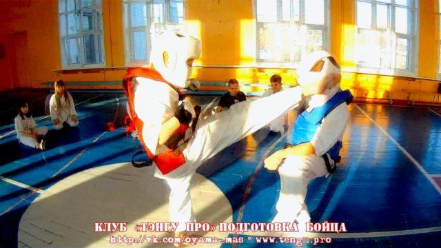 Боевая тренировка. Поединок Панина Дарина - Тютин Кирилл