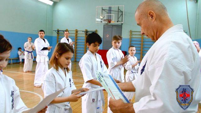 Аттестация Федерации Кёкусинкай Мурманской области под руководством Шихана Анатолия Криводедова