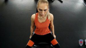 Индивидуальная тренировка Снежаны Соболь, победительницы Конкурса Красоты «Мисс и Миссис Великая Русь 2019»