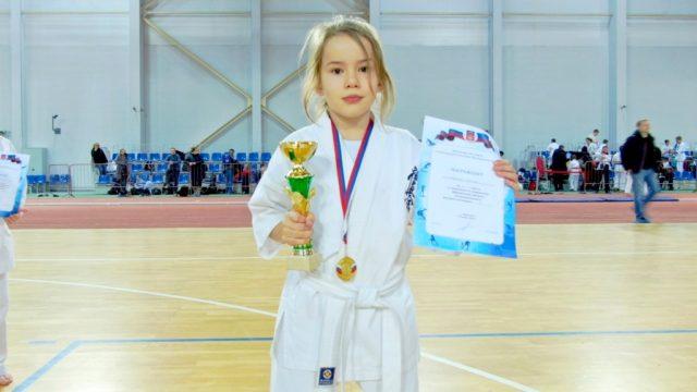 Шагина Ксения 1 место