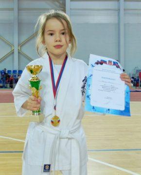 Шагина Ксения – Воспитанник клуба «Тэнгу Про»