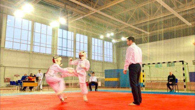 Атака Андрюшина Дениса на Чемпионате Мурманской области по Кумите 2020