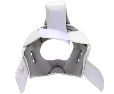 Шлем для киокусинкай каратэ с защитой верха головы (экокожа) 3