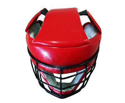 Шлем защитный для армейского рукопашного боя со спецстальной маской