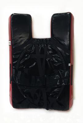 Щит (Мита)  Кёкусинкай, 96 х 130 х14 см, с вырезом для головы